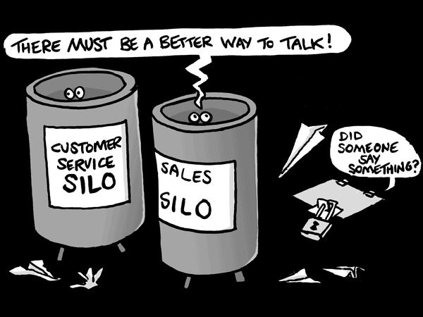 Customer Data Platform fights against the risk of data silos.